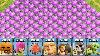 The Most Satisfying Video Ever In Clash Of Clans Private Server