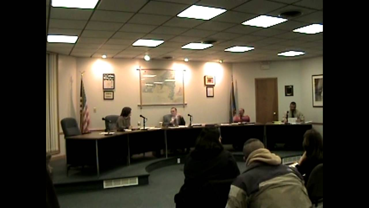 Rouses Point Village Board Meeting  1-22-08