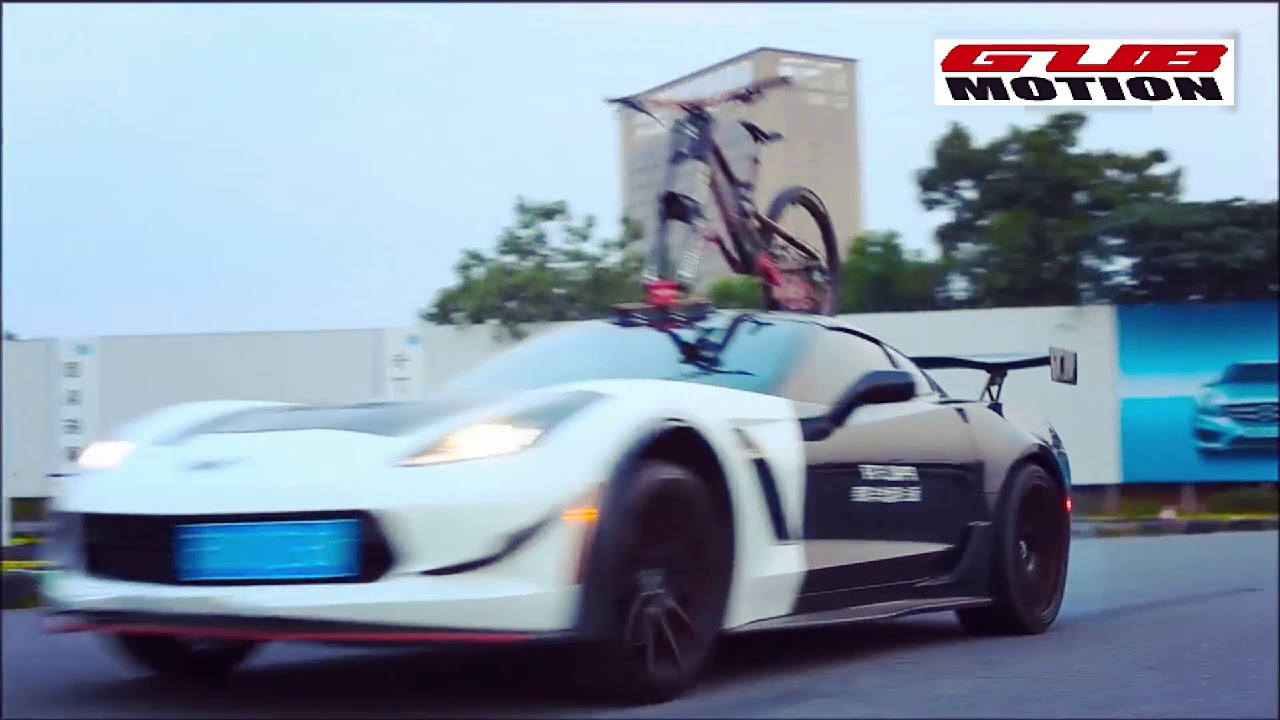 Rockbros Car Roof Bicycle Suction Rack Road Test Youtube