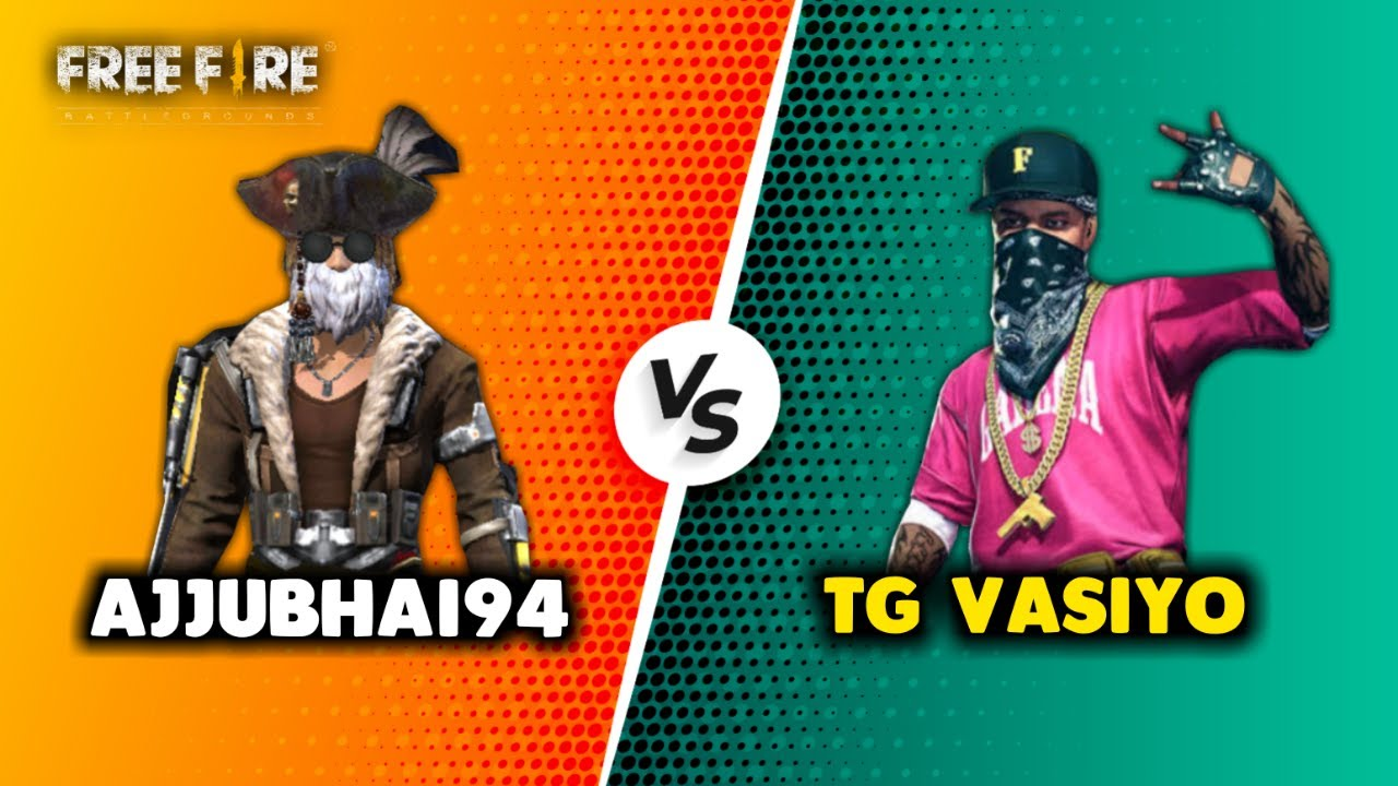 Ajjubhai94 vs TG Vasiyo Best Clash Battle Who will Win - Garena Free Fire