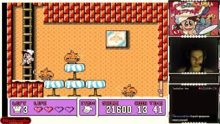 Panic Restaurant прохождение 100%   Игра на (Dendy, Nes, Famicom, 8 bit) 1992. Live cтрим HD [RUS]