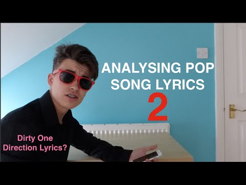 Analysing Pop Song Lyrics 2 - One Direction