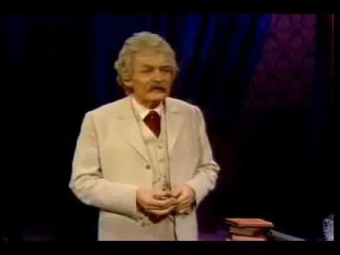 "Hal Holbrook in ""Mark Twain Tonight!"" (1967) - YouTube"