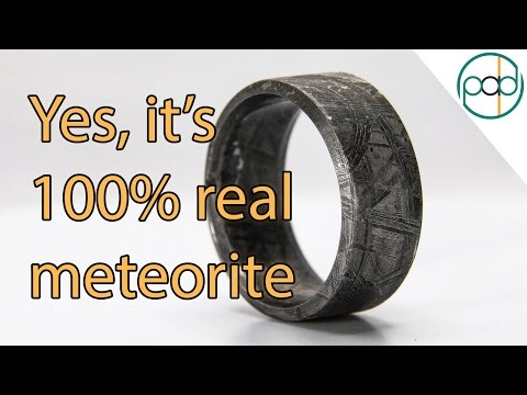 Making A Pure Meteorite Ring