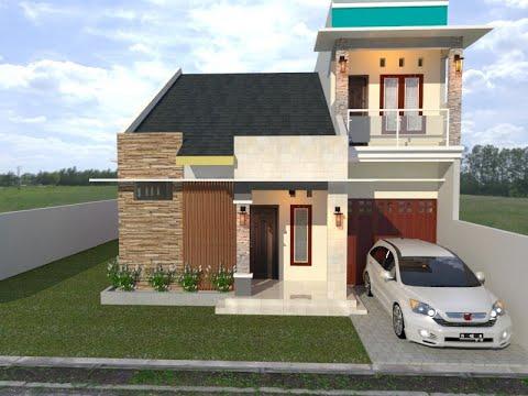 desain #41 desain rumah minimalis 8x12 4 kamar tidur 2