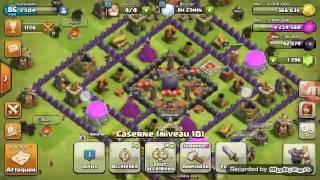 Clach défi #5 attaque full pekka!!!