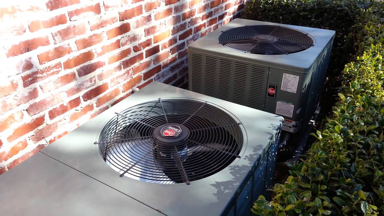 rheem air conditioners - youtube