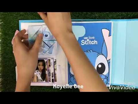 Stitch 手工书