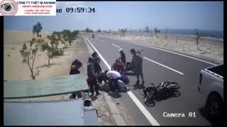camera quay lại Tại nạn khủng khiếp  khi đi du lịch | rất nguy hiểm