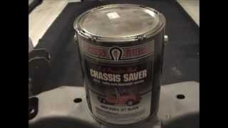 1987 Olds 442: Video 6 - Sand Blasting and Coating the Frame