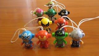 kinder Surprise - Marvel - коллекция игрушек-супергероев. Игрушки для мальчиков