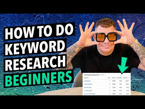 How To Do Keyword Research For SEO: A Beginners Guide 1/2