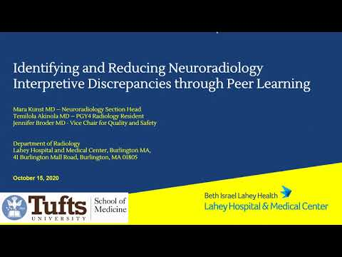 Identifying And Reducing Neuroradiology Interpretive Discrepancies Through Peer Learning
