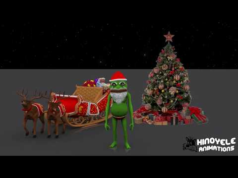 Pepe Frog - Santa Frog