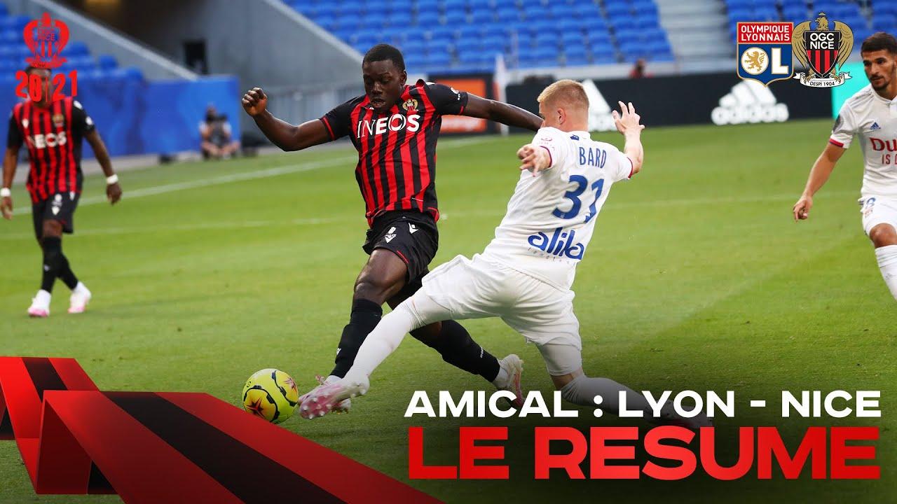 Lyon 1 0 Nice Match Amical Le Resume Youtube