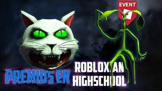 Besessene Katzenmütze und Pickett inRobloxian Highschool Roblox Halloween Event 2018