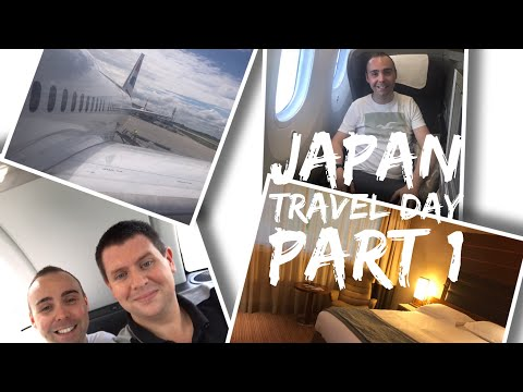 Japan Vlog - May 2017 - Days 1 and 2 - Travel Day Part 1