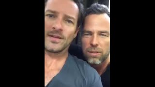 [18/07/2015] Periscope - JR Bourne #1 (with Ian Bohen  )