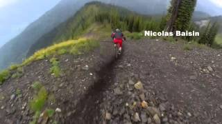 one lap reco peak heli drop at retallack