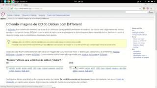 Como baixar o Debian