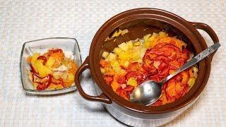 Рецепт горшочка с курицей капустой и картошкой в горшочке вкусно сытно и просто