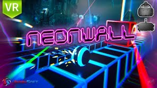 Neonwall an innovative game that mixes the genres of puzzle and action in VR experience.