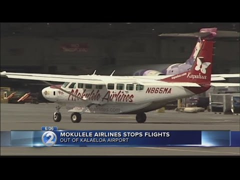 Mokulele Airlines explains decision to end flights out of Kalaeloa Airport