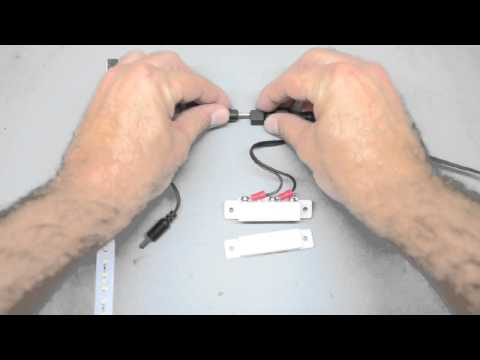 How to Install a Magnetic Switch for LED Lighting in Cabinets and Drawers | Inspired LED