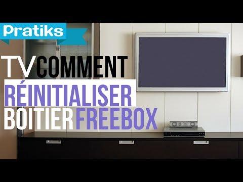 Comment réinitialiser votre boîtier Freebox TV - reboot erreur 51