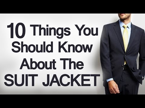 10 Suit Jacket Details Every Man Should Know | Single Vs Double Breasted 1 2 or 3 Button Silhouettes