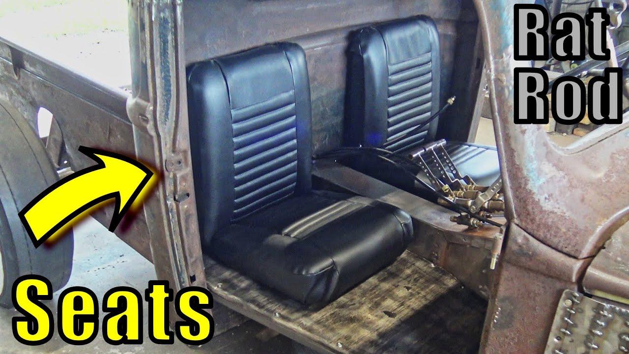 1st Ever Build Bucket Seats - Rat Rod Style