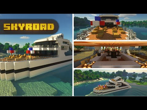 A Yacht In Minecraft - Let's Build It! | Minecraft Classic Timelapse