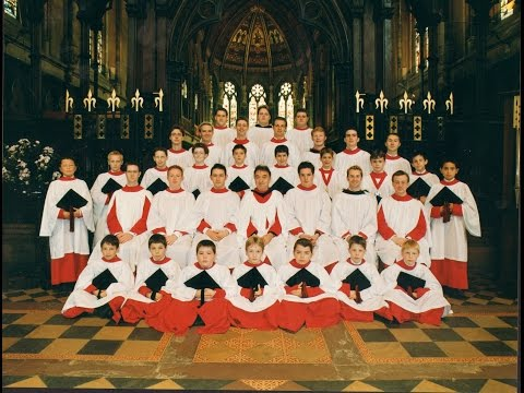 """Amazing Grace"": St John's College Cambridge choristers (George Guest)  1989"