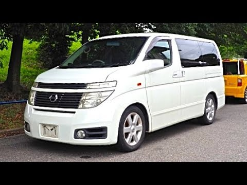 2002 Nissan Elgrand 4wd Canada Import Japan Auction Purchase