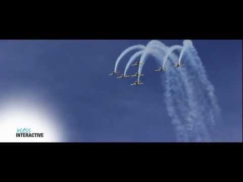 Brazilian Smoke Squadron Air Show in Guyana - March 24, 2013