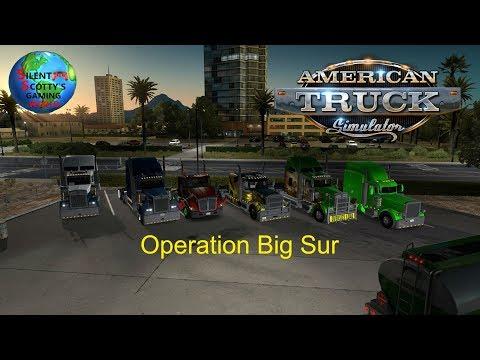 """Operation Big Sur"" World Of Trucks Event | American Truck Simulator"