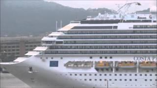 Costa Pacifica chegando ao Porto de Santos 20/12/2015