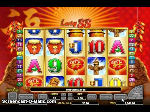 Free online lucky 88 slots
