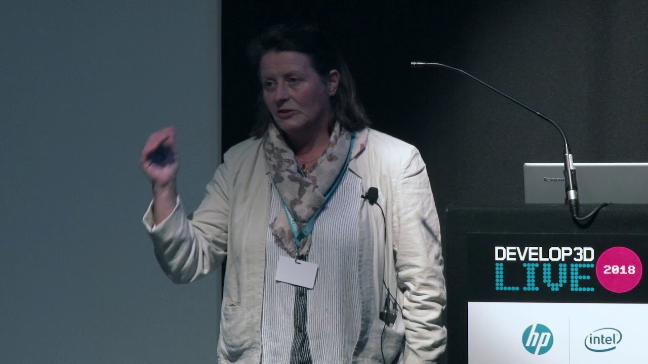 DEVELOP3D LIVE 2018: Louise Geekie, Croft Additive Manufacturing Ltd