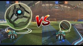 BALON GIGANTE vs BALON PEQUEÑO | Rocket League