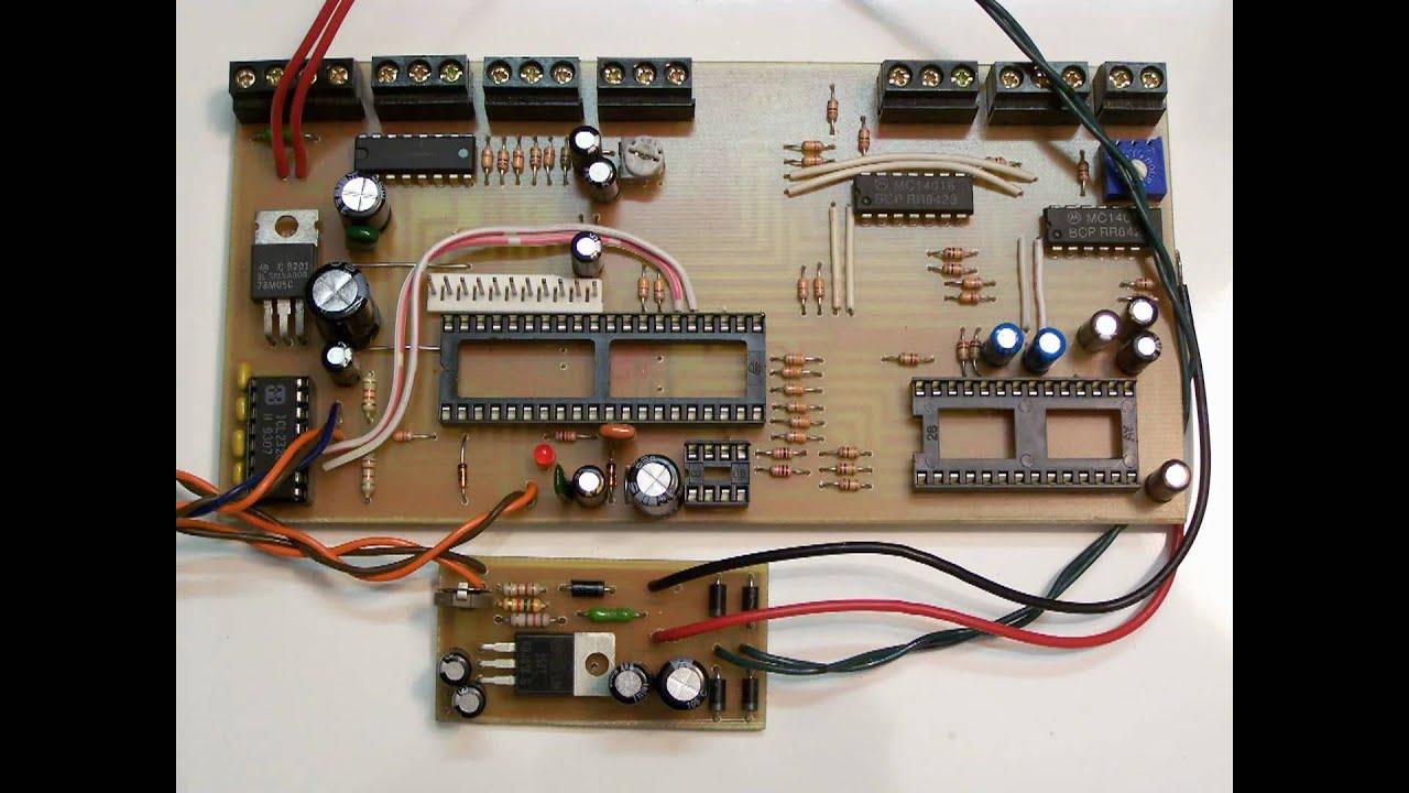DIY Printed Circuit Board PCB Making-'Door Bell Answering