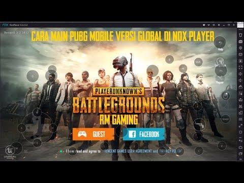 Cara Main Pubg Mobile Di Pc Dengan Nox Player Tidak White Screen