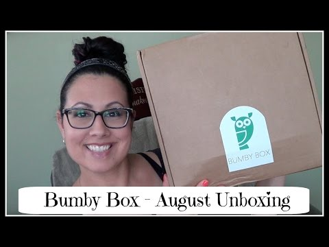 Bumby Box August Unboxing