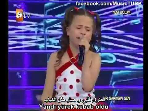 طفلة تركية أبكت العالم 9
