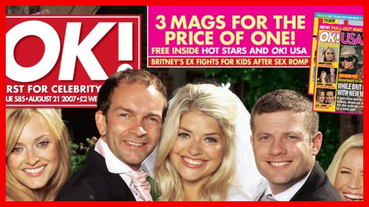 Holly Willoughby Wedding Pictures Inside This Morning Presenter S Day With Husband Dan