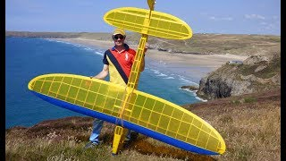 Leprechaun RC Glider sloping