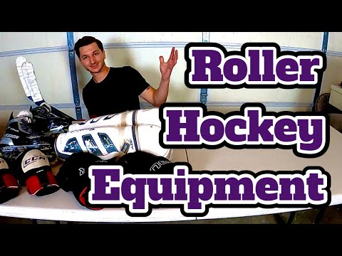 All The Equipment You Need To Play Roller Hockey