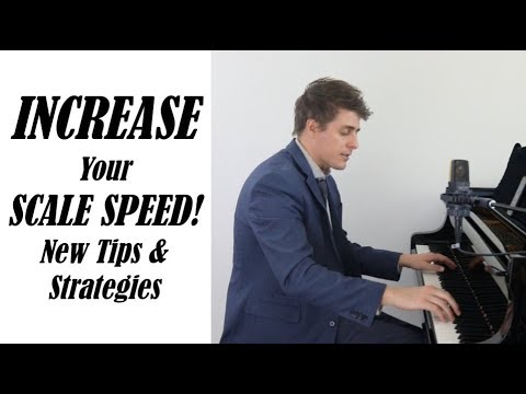 INCREASE Your Scale SPEED With This NEW Tip! Josh Wright Piano TV