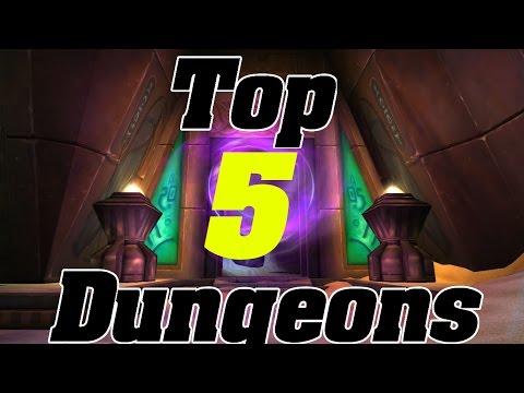 Legion: TOP 5 Dungeon Farms