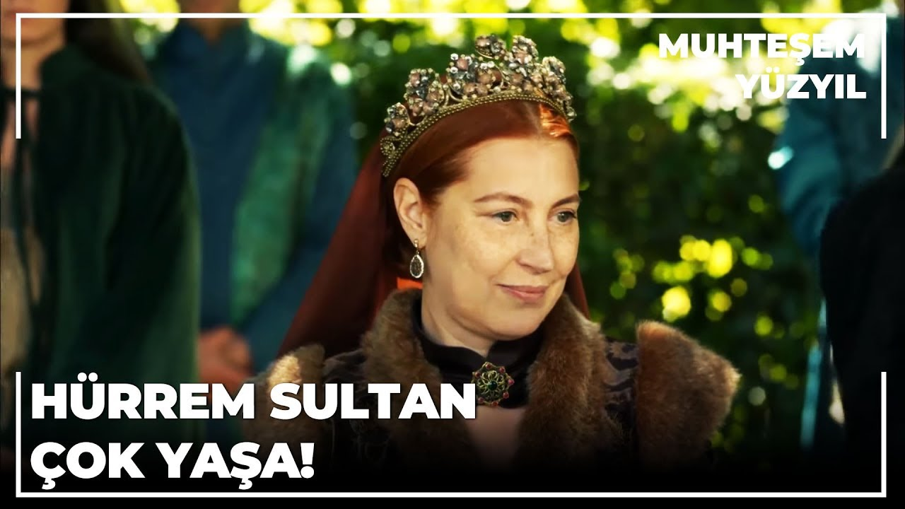 İnsanlar  Hürrem Sultan'ı Görmek İçin Saraya Geldiler | Muhteşem Yüzyıl